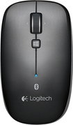 Logitech - M557 Bluetooth Mouse - Dark Gray