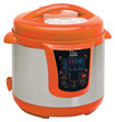 Elite Platinum - 8-Quart Electric Pressure Cooker - Orange