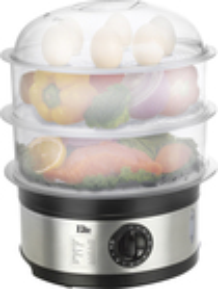Elite Platinum - 3-Tier 8-1/2-Quart Food Steamer
