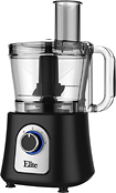 Elite Platinum - 12-Cup Food Processor - Black