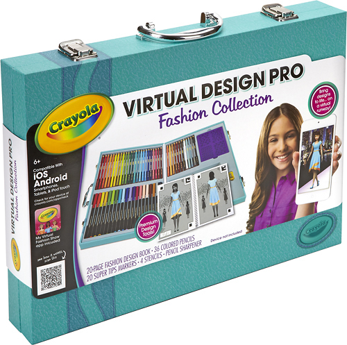 Crayola Fashion Show . Crayola Virtual Design Pro