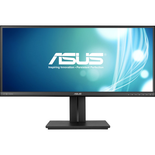 Asus - 29 IPS LED HD 21:9 Ultrawide Monitor - Black