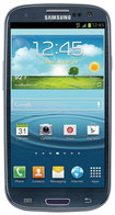 Samsung - Galaxy S III 4G Cell Phone (Unlocked) - Blue