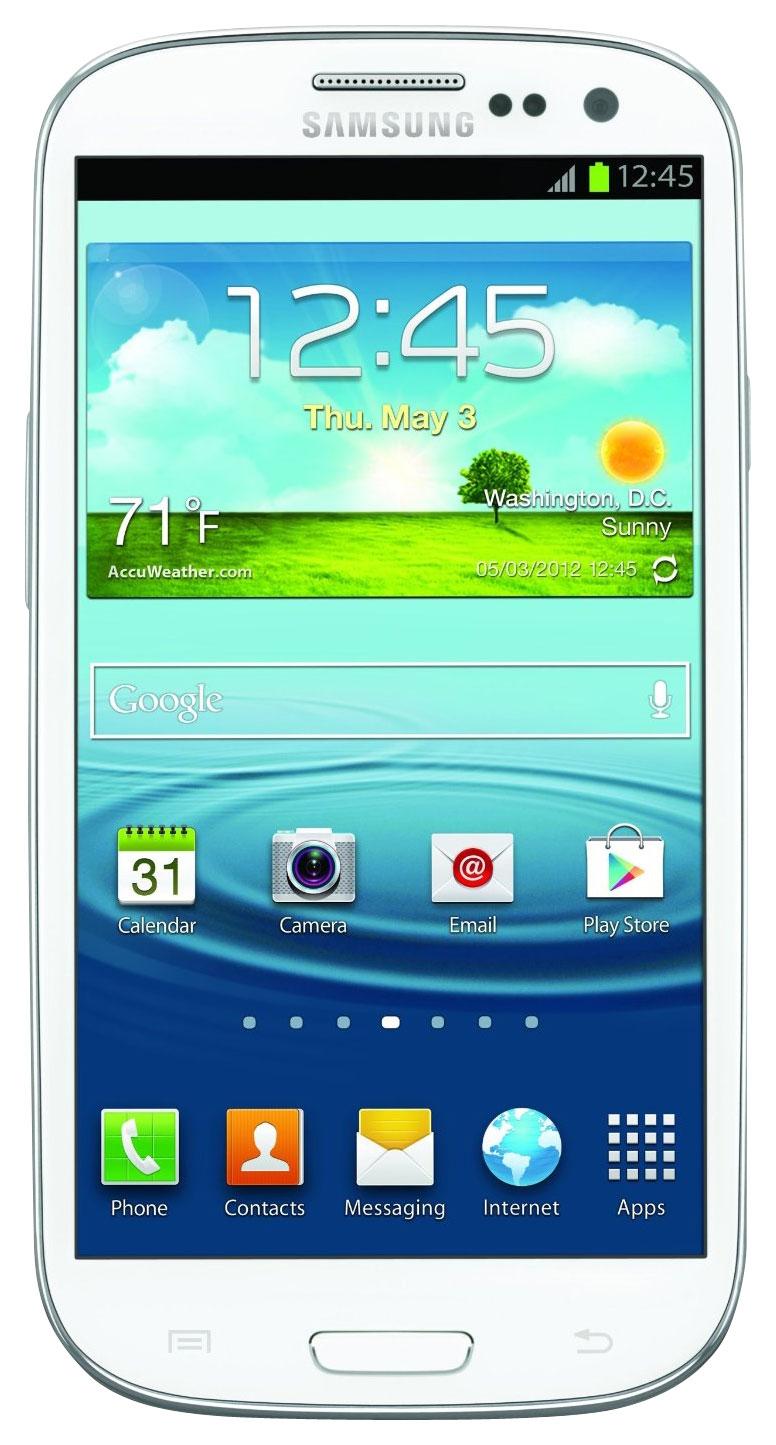 Samsung - Galaxy S III 4G Cell Phone (Unlocked) - White