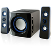 iLive - 2.1-Ch. Wireless Bluetooth Speaker System for Apple® iPod®, iPhone® and iPad® - Black