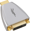 Rocketfish™ - DVI-to-HDMI Adapter - Silver/Gold