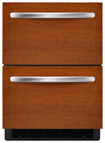 KitchenAid - Architect Series II 5.1 Cu. Ft. Built-In Double Drawer Refrigerator - Other