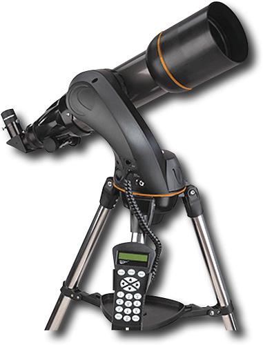 Celestron - NexStar 102SLT Refractor Computerized Telescope - Silver