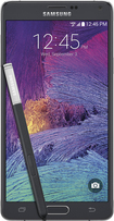 Samsung - Galaxy Note 4 4G LTE Cell Phone - Charcoal Black (Verizon Wireless)