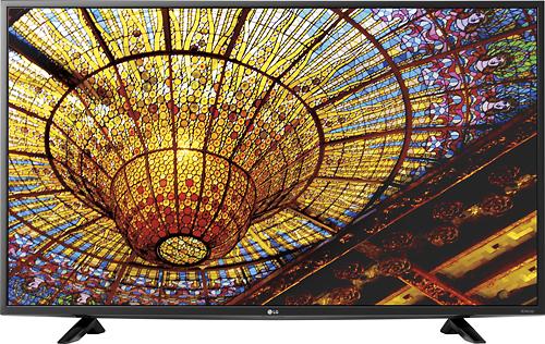 LG - 43 Class (42.5 Diag.) - LED - 2160p - Smart - 4K Ultra HD TV - Black