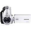 Samsung - F90 HD Flash Memory Camcorder - White