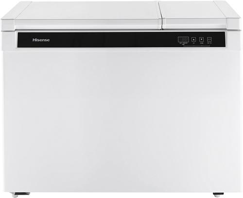 Hisense - 9.0 Cu. Ft. Chest Freezer - White