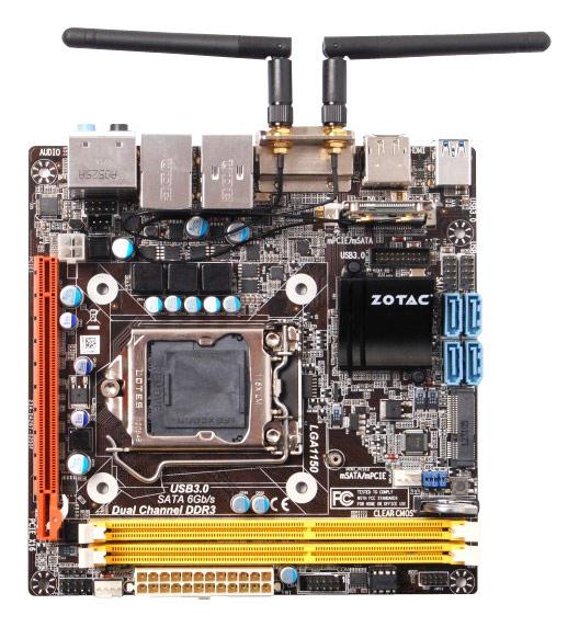 Zotac - A Series Mini ITX Motherboard 1600MHz (Socket LGA 1150)