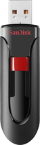 SanDisk - Cruzer 8GB USB 2.0 Flash Drive - Black