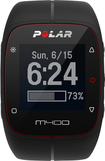 Polar - M400 GPS Watch with Heart Rate Monitor - Black