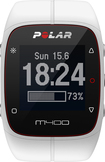 Polar - M400 GPS Watch with Heart Rate Monitor - White