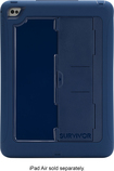 Griffin Technology - Survivor Slim Case for Apple® iPad® Air 2 - Blue
