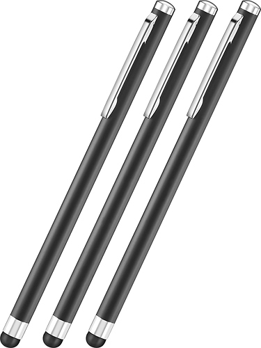 Insignia™ - Styluses (3-Pack) - Black