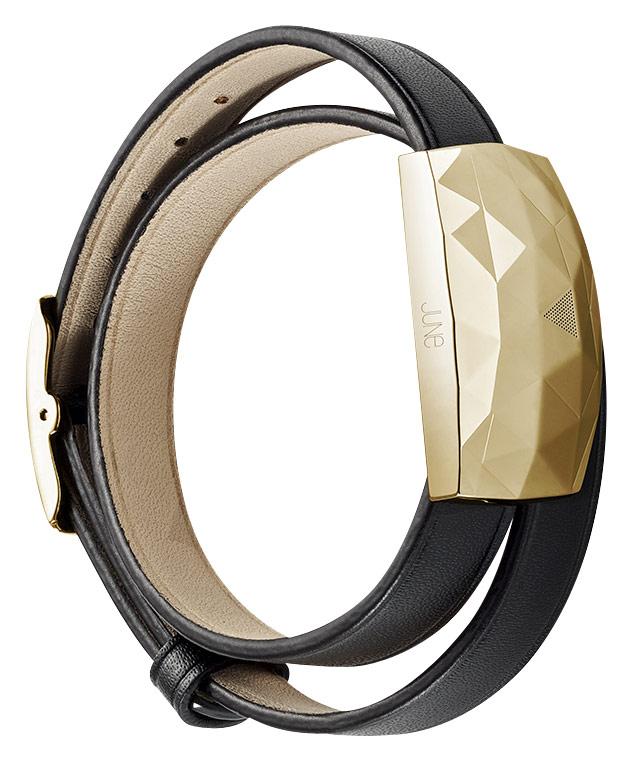 Netatmo - June UV-Monitoring Bracelet - Gold