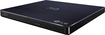 LG - 8x External USB 2.0 Blu-ray Disc Double-Layer DVD±RW/CD-RW Disc Rewriter - Black