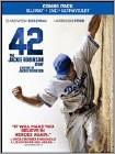 42 (Blu-ray Disc) (Ultraviolet Digital Copy) (Enhanced Widescreen for 16x9 TV) (Eng/Fre/Spa) 2013