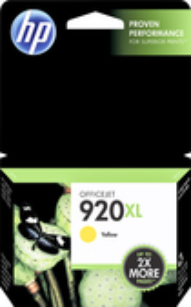 HP - 920XL High-Yield Ink Cartridge - Yellow
