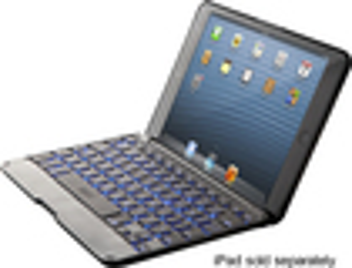 ZAGGkeys - Keyboard Cover for Apple® iPad® mini - Black/Slate