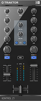 Native Instruments - TRAKTOR KONTROL Z1 2-Channel Mixer and Audio Interface - Black