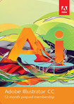Adobe Illustrator CC (1-Year Prepaid Subscription Card) - Mac/Windows