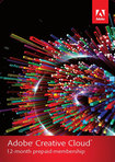 Adobe Creative Cloud (1-Year Prepaid Subscription Card) - Mac/Windows