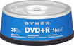 Dynex™ - 25-Pack 16x DVD+R Disc Spindle - Blue/Gray