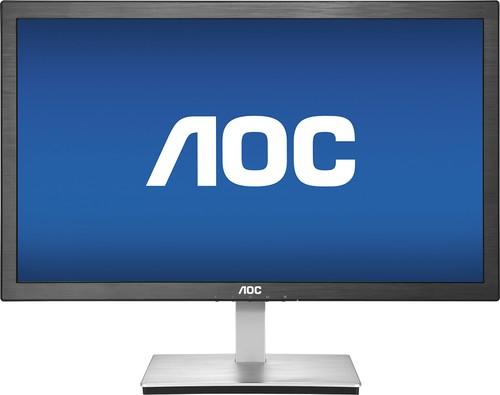 AOC - Value 23.6 LCD HD Monitor - Black