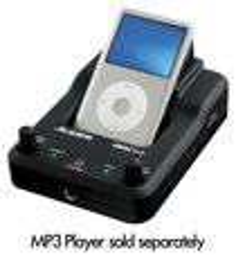 Alesis - JamDock Practice Dock for Apple® iPod® - Black