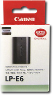 Canon - LP-E6 Lithium-Ion Battery Pack for Select Canon Digital Cameras - Black