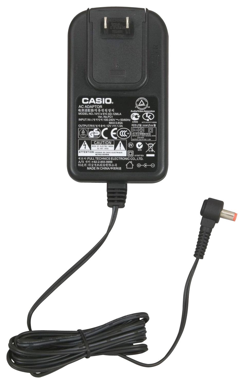 Casio - Ac Adapter Power Supply - Black 9279161