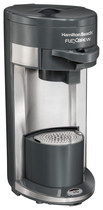Hamilton Beach - Flexbrew Single-serve Coffeemaker - Black/silver 9283304