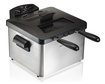 Hamilton Beach - 12-Cup Professional-Style Deep Fryer - Silver/Black