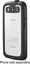 LifeProof - frē Case for Samsung Galaxy S III Cell Phones - Black/Clear