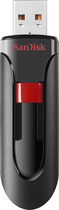 SanDisk - Cruzer 32GB USB 2.0 Flash Drive - Black