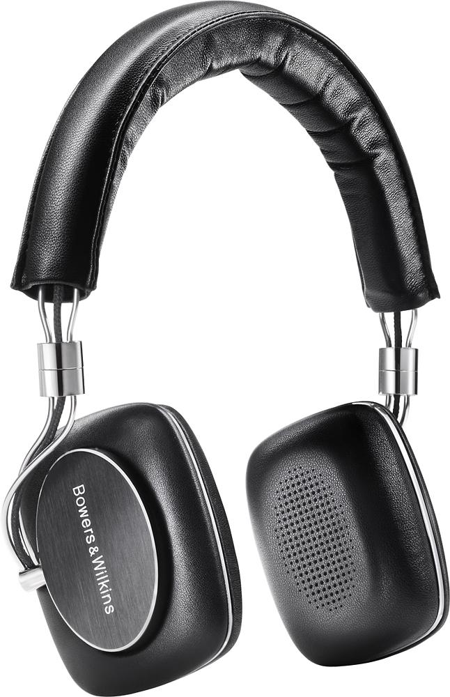 Bowers & Wilkins - P5 Series 2 On-Ear Headphones - Black