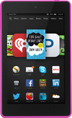 "Amazon - Fire HD - 6"" - 16GB - Magenta"