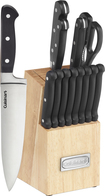 Cuisinart - Advantage 14-Piece Knife Set - Black