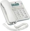 AT&T - Corded Speakerphone with Call-Waiting/ Caller ID - White