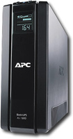 APC - Power Saving Back-UPS XS 1500 - Black