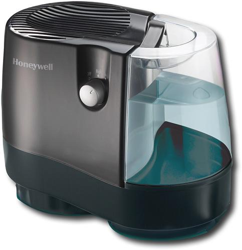 Honeywell - 0.8-Gallon Cool Moisture Humidifier - Black