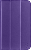 "Belkin - Trifold Case for Samsung Galaxy Tab 3 7"" - Purple"