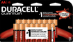 Duracell - Quantum AA Batteries (16-Pack) - Red