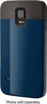 LUNATIK - FLAK Case for Samsung Galaxy S 5 Cell Phones - Dark Blue
