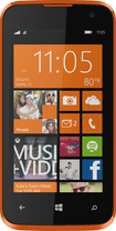 Blu - Win Jr 4G with 4GB Memory Cell Phone (Unlocked) - Orange