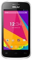 Blu - Dash Jr 4.0 K Cell Phone (Unlocked) - Silver